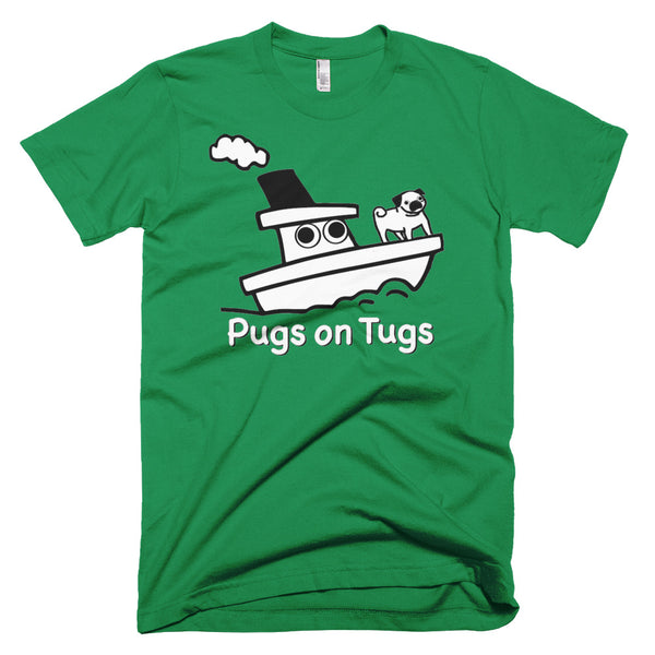 Pugs on Tugs™ men's t-shirt