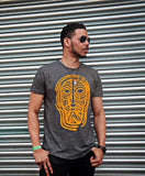 """Face of Africa"" Grey & Bold Tees"