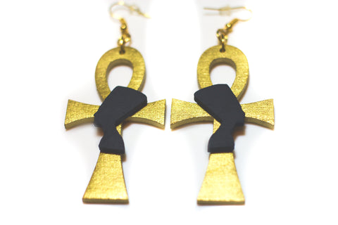 Still I Rise Nefertiti Earrings