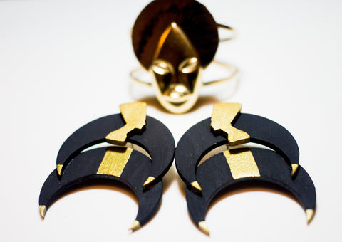 Queen Ramonda Earrings