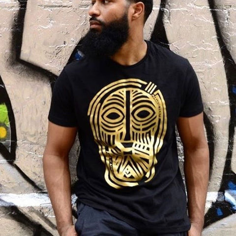 """Face of Africa""  Ebony Tees"