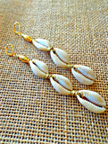 Mezi Cowrie Earrings