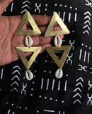 Saidiya Cowrie Earrings
