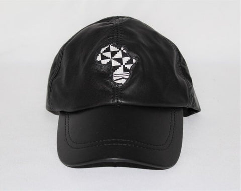 Toke Afro- (Vegan) Leather Hat