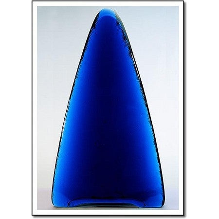 Electric Blue Tower Glass Award