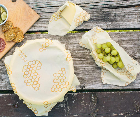 Beeswax Food Storage Wraps - Combo Pack