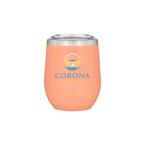 12 oz Cece Stainless Steel Thermal Tumbler