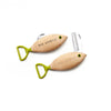 Beech Wood Fish Combo Pocket Knife & Bottle Opener