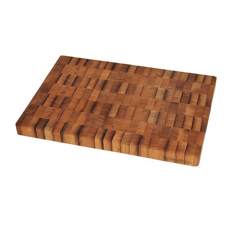 Reclaimed Oak Wine Barrel Butcher Block - Large