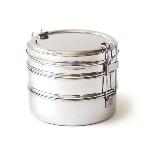 Three-Layer Stainless Steel Lunch Box
