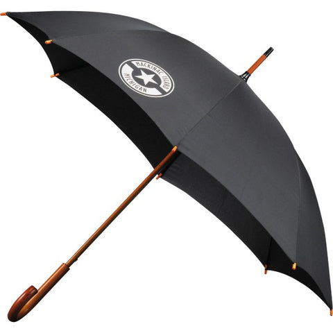 "48"" Arc Umbrella with Wood Handle"