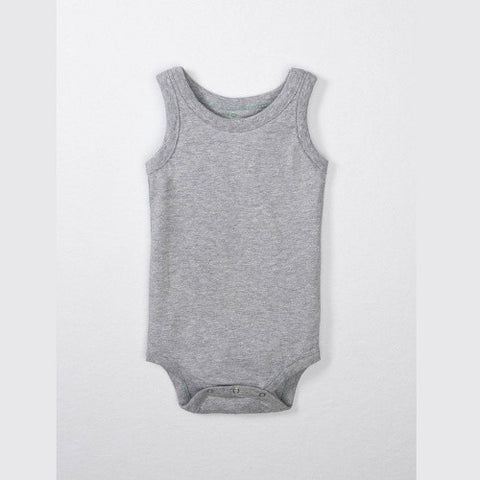 100% Organic Cotton Tank Bodysuit