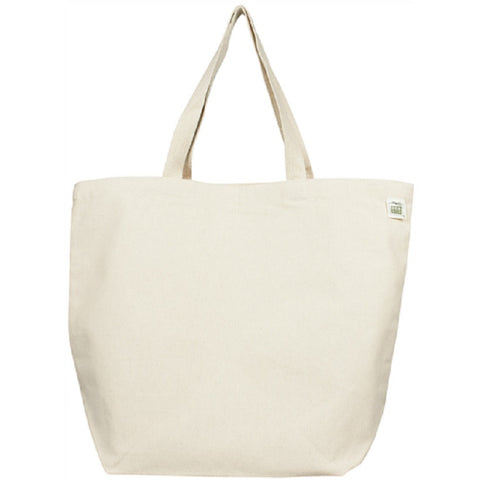 Recycled Cotton Canvas Tote 19""
