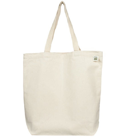 Recycled Cotton Canvas Tote 16""