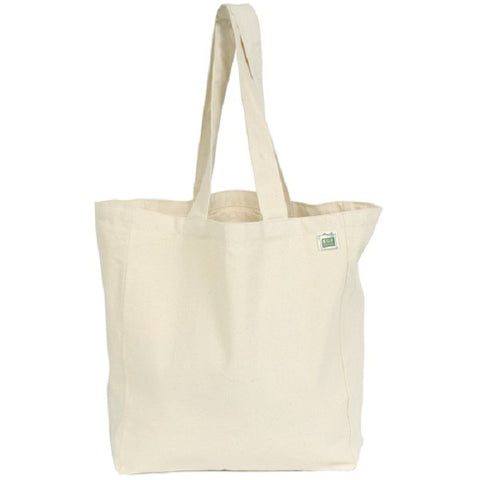 Recycled Cotton Tote with Pocket