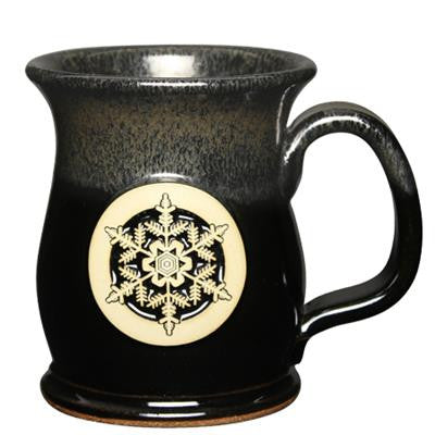 Sunset Hill Stoneware Made in the U.S.A. Handcrafted Ceramic Mug – Wide Mouth