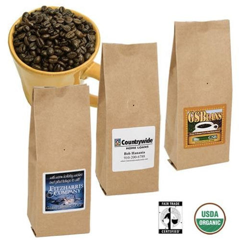 6 OZ. Organic Fair Trade Coffee (Certified)