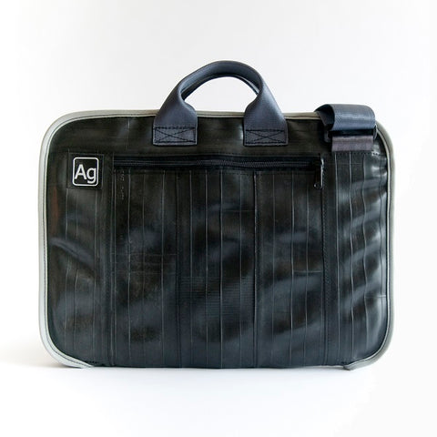 Upcycled Bike Tube Laptop Bag - 15""