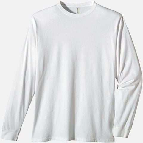 100% Certified Organic Cotton Classic Long Sleeve Tee
