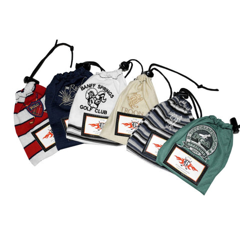 Golf Tee Bag from T-shirts and Golf Shirts