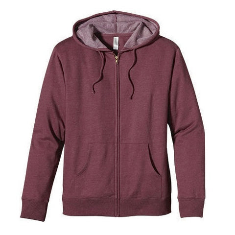 Organic Cotton & Recycled Polyester Fleece Zip Hoodie