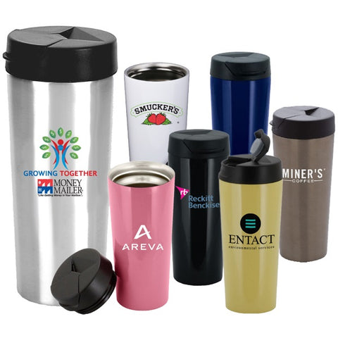 Stainless Steel Travel Mug with Twist off Top