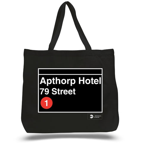 Custom Subway Stop Tote