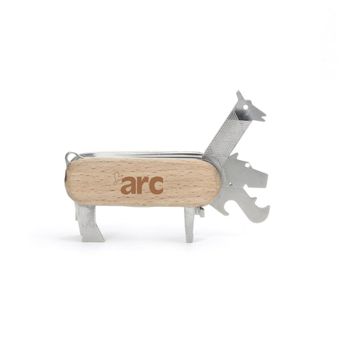 Beech Wood Animal Multi Tool