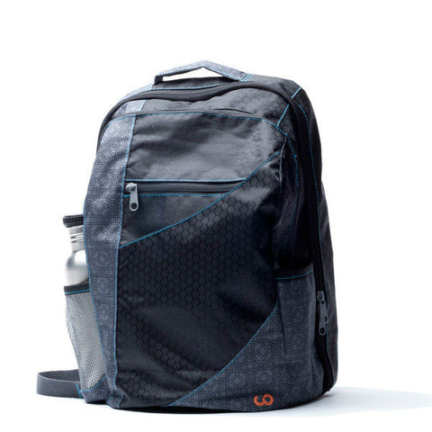 Water Resistant Backpack from 100% Upcycled Materials