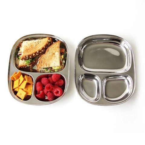 Stainless Steel Kids Food Tray