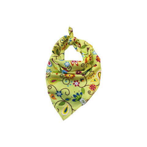 Organic Cotton Tie Pet Bandana