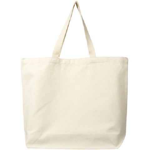 Classic Organic Cotton Canvas Tote - Natural