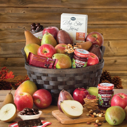 USDA Certified Organic Fruit Basket