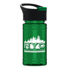 100% rPET Mini Sports Bottle with Pop-Up Lid - 16 oz