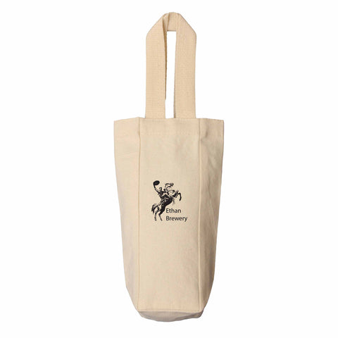 Cotton Canvas Wine Tote
