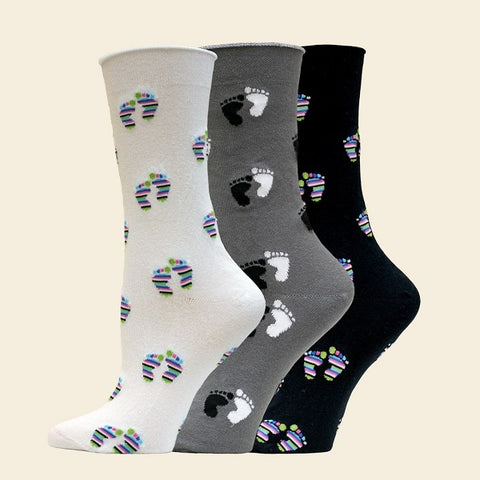 Organic Cotton Mid-Calf Sock