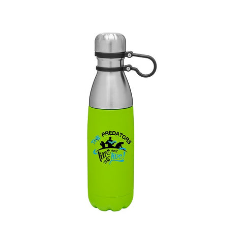 16.9 oz Cap Loop Stainless Steel Bottle