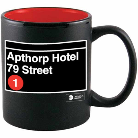 Custom Subway Stop Ceramic Mug