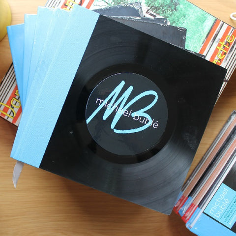 Upcycled Vinyl Record Journal