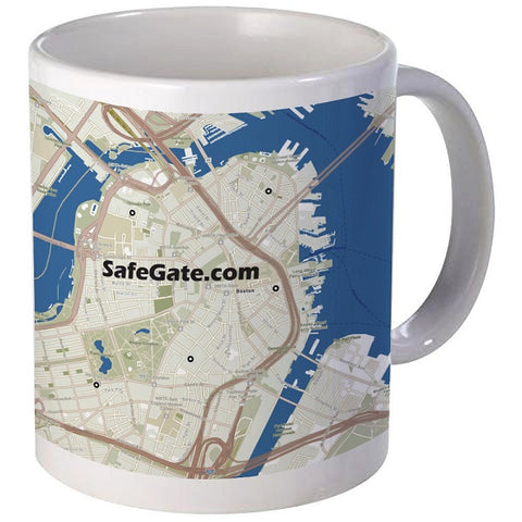 Custom Map Coffee Mug