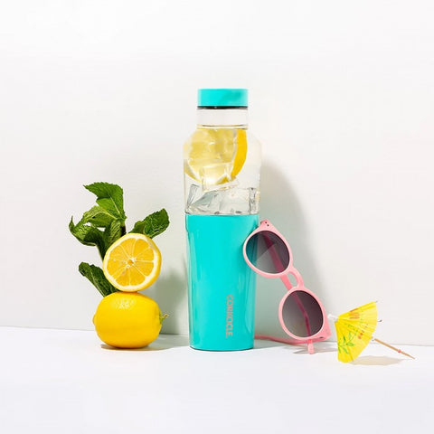 Corkcicle Insulated Glass Water Bottle