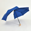 Mini Umbrella from 51% Recycled PET with Natural Wood Handle