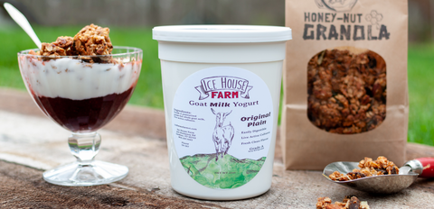 Ice House Farm Goat Milk Yogurt Granola