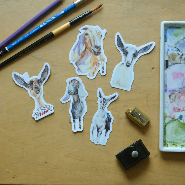 Goat Sticker Collection