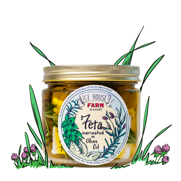 Marinated Goat Milk Feta Jar
