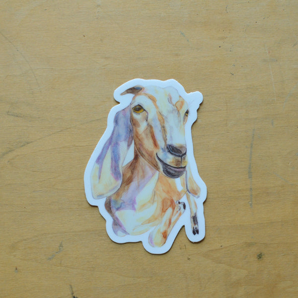 Maybelle Goat Sticker