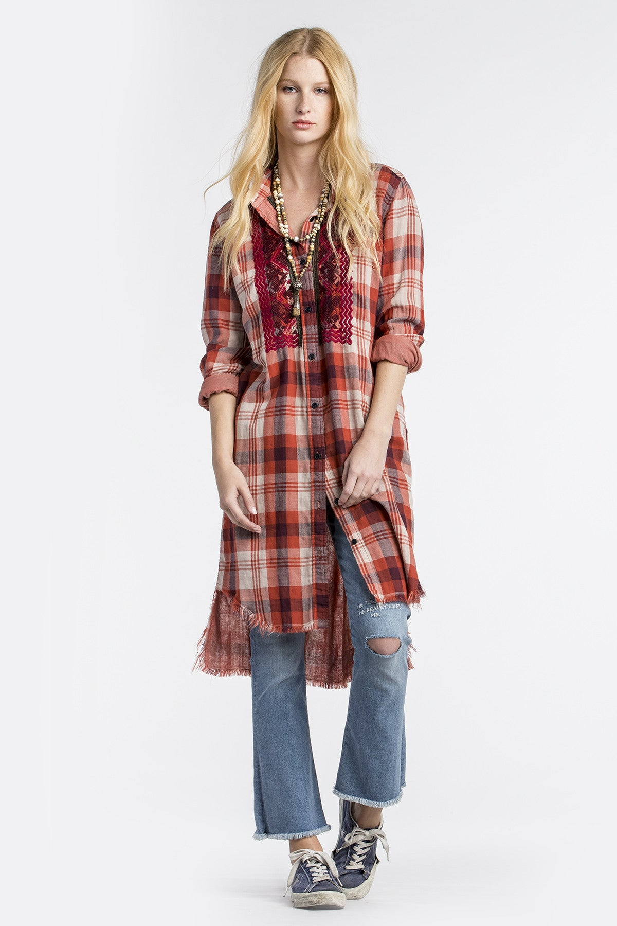 Have It All Shirt Dress