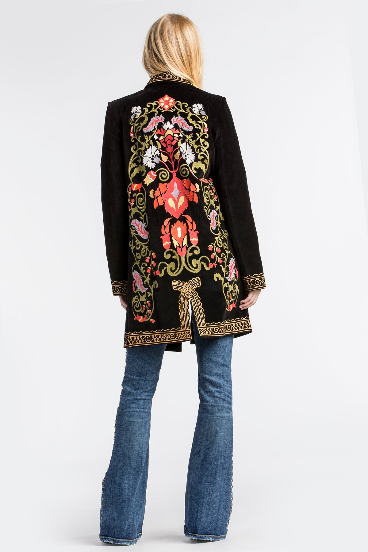 Electric Lady Embroidered Blazer