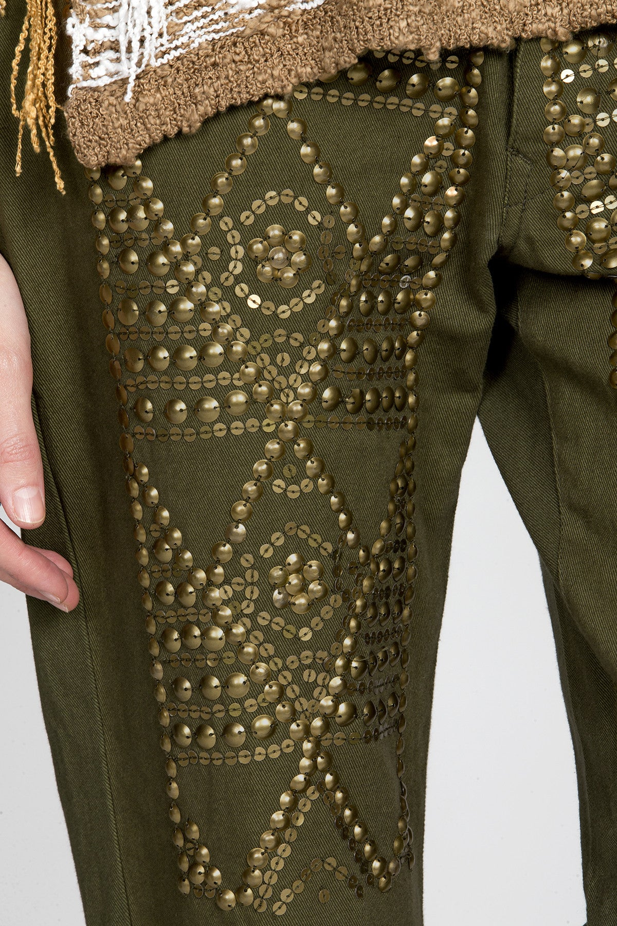Guilty Pleasure Studded Pants