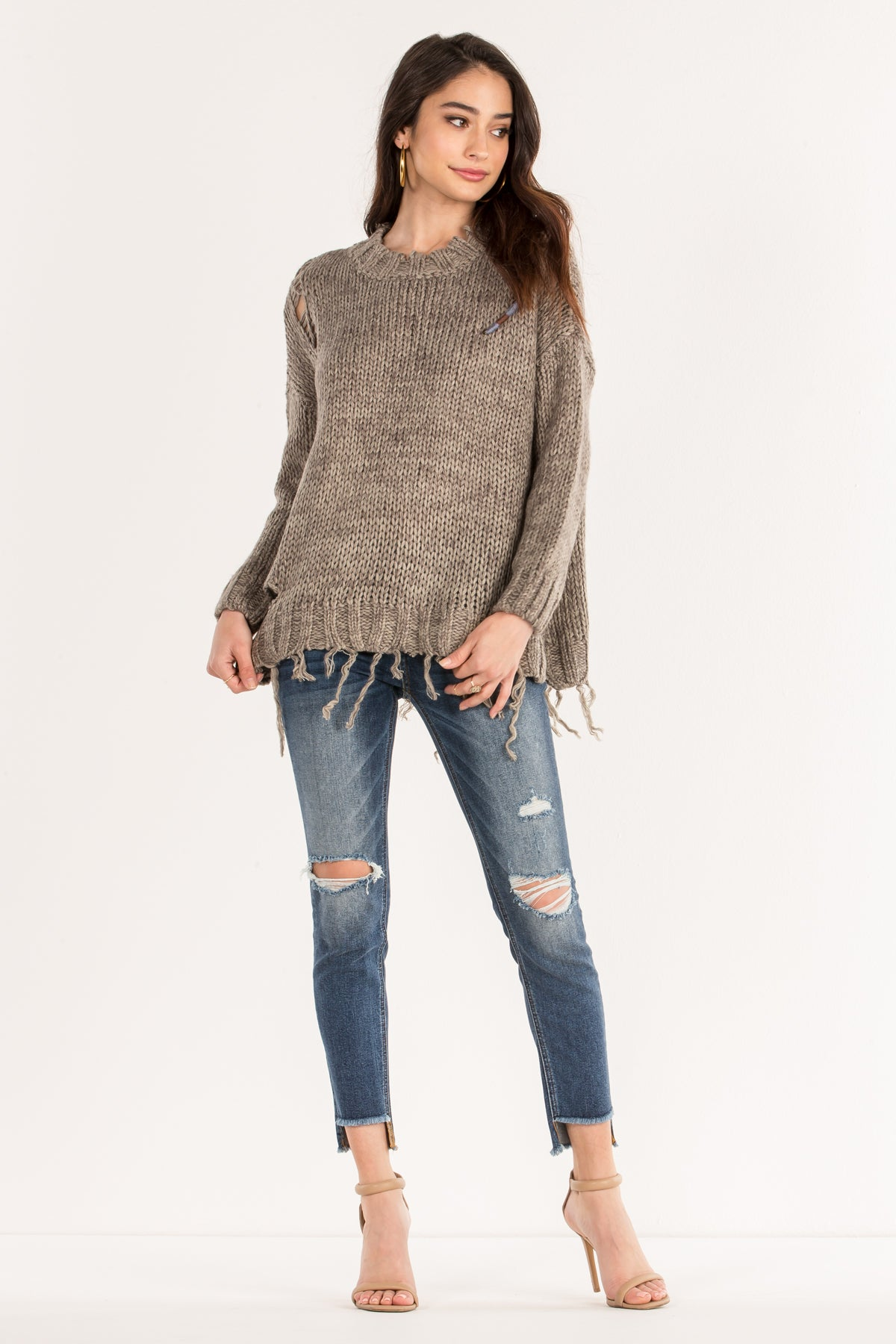 String Me Along Knit Sweater